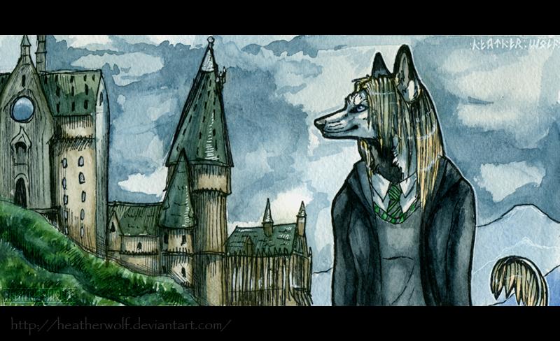 Neighborhood of Hogwarts by HeatherWolf