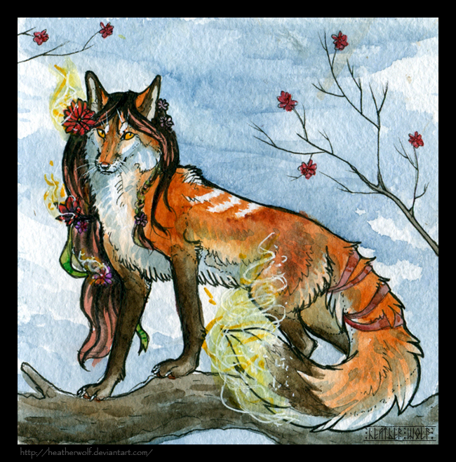 The smell of spring by HeatherWolf