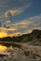 San Gabriel Sunset by gregner