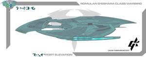 Romulan De'shara Warbird by Galen82