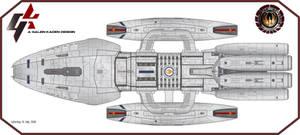 Battlestar Zodiac -Dorsal