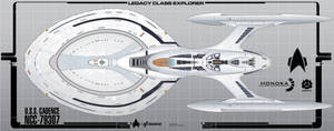 USS Cadence Ventral View