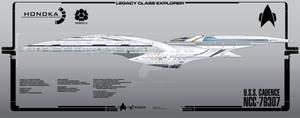 USS Cadence Side View