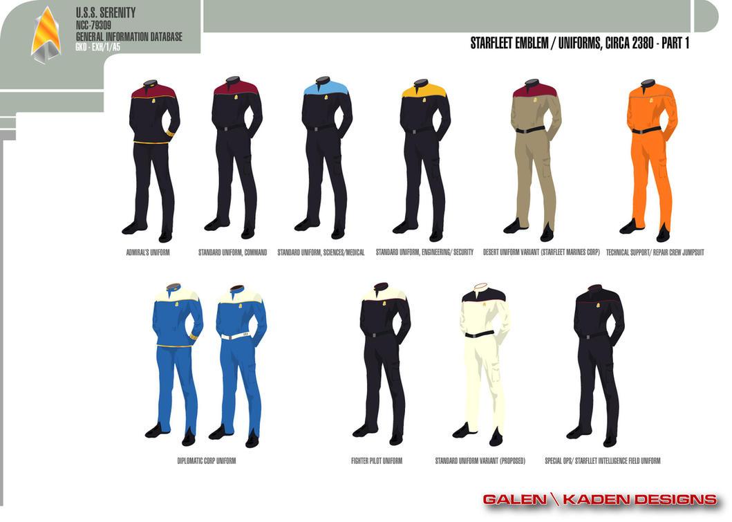 Starfleet Uniform Color 58