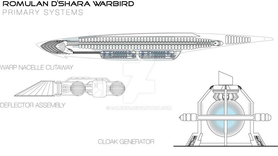 Romulan D'shara WIP Cutaway 1 by Galen82
