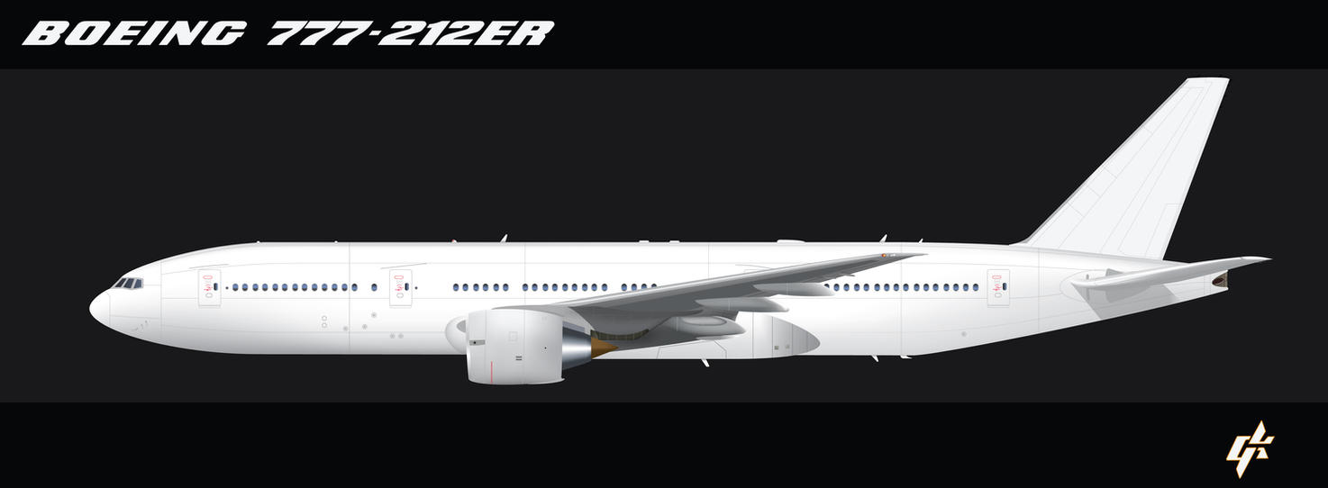 B777-200 Blank template by Galen82