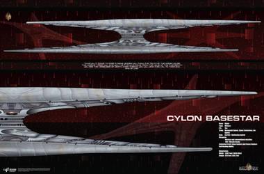 Cylon Baseship Poster by Galen82