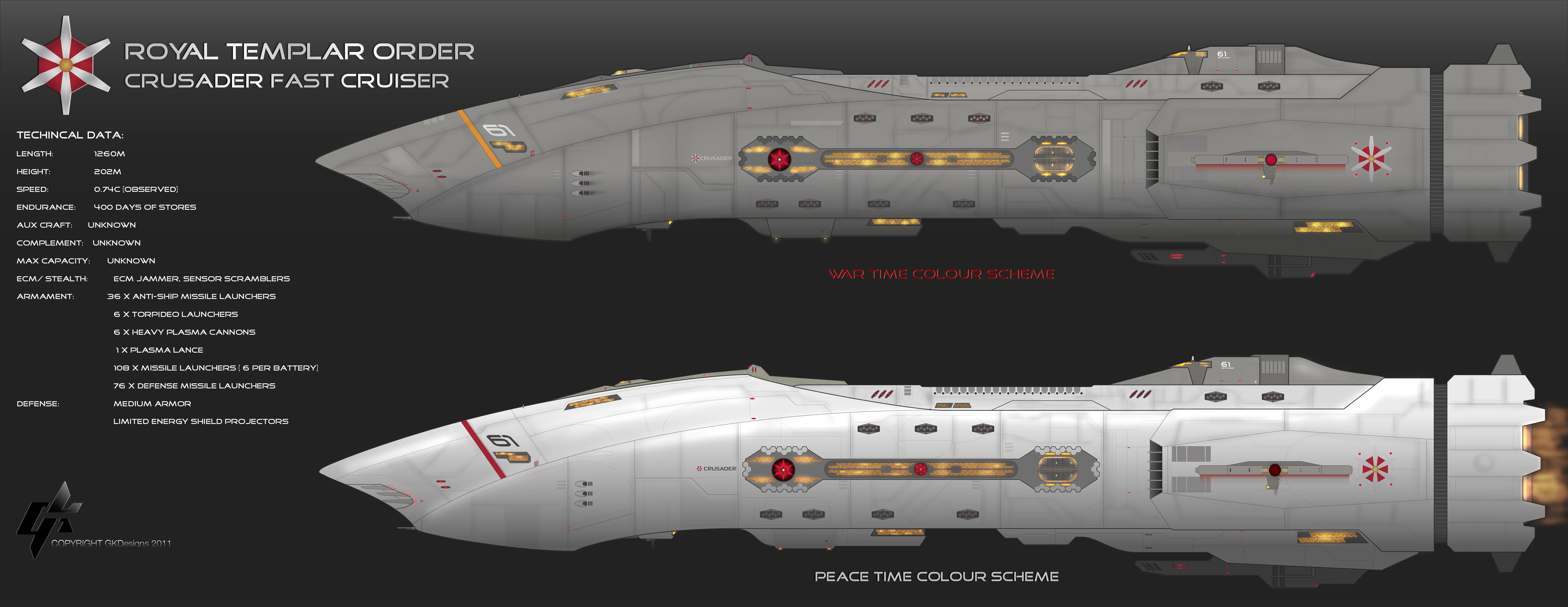 Crusader Class Cruiser by Galen82