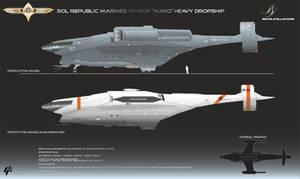 Republic Mako Class Dropship