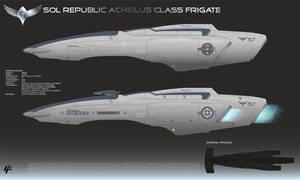 Republic Acheilus Frigate