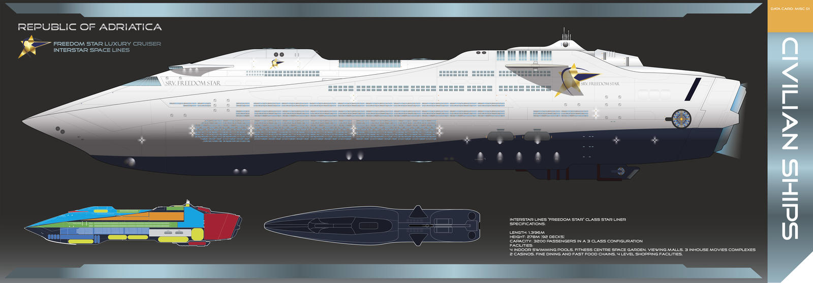 Com star liner by galen82 on deviantart for Passengers spaceship