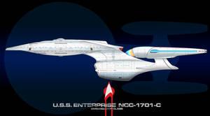 USS Enterprise C Finished