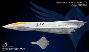 CoM Republic VF21 Stinger Fighter