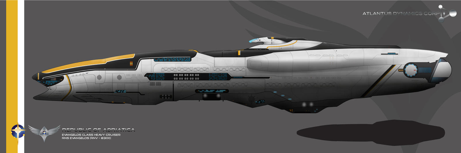 CoM Evangelos Class Cruiser Refit by Galen82