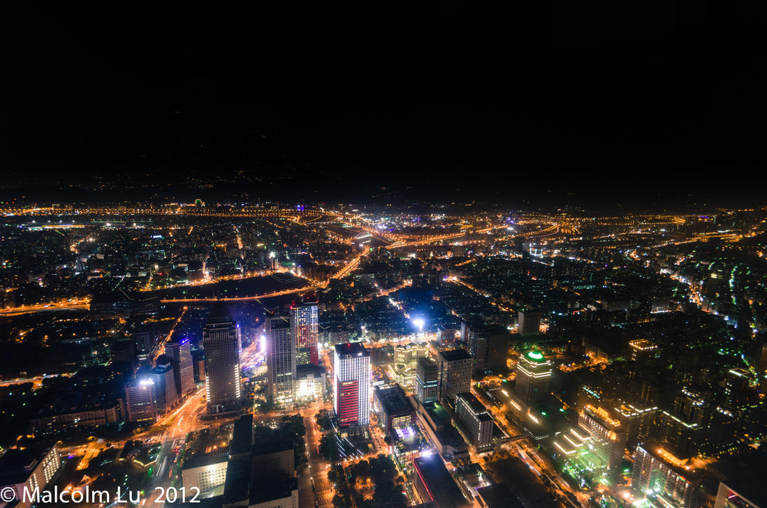Taipei at Night by Galen82