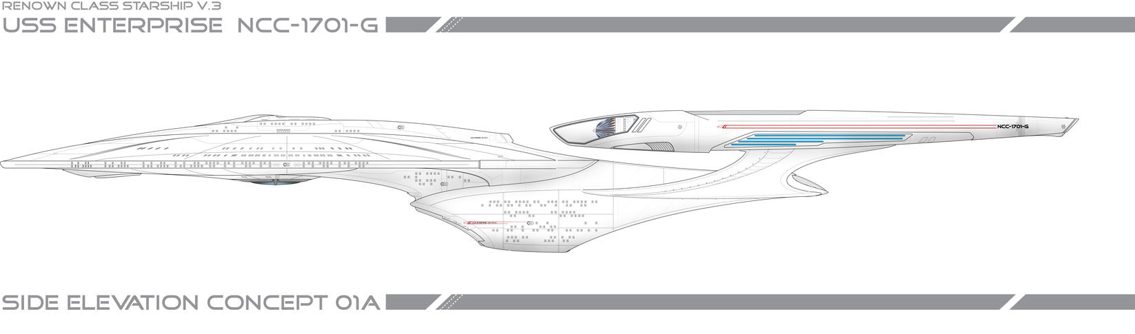WIP USS ENTERPRISE 1701-G by Galen82