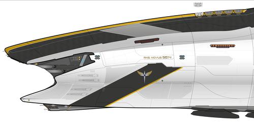 WIP Atlantus Class Battlecruiser For CoM 3.0