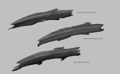 Republic Arbiter Cruiser Line and Variants Concept