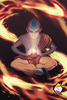 Aang - Avatar by ElementalDraws