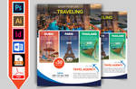 Travel and Tour Flyer Template V2