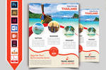 Travel and Tour Flyer Template V5