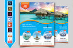 Travel and Tour Flyer Template V4