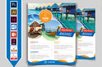 Travel and Tour Flyer Template V10