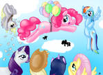 Pinkie goes fly