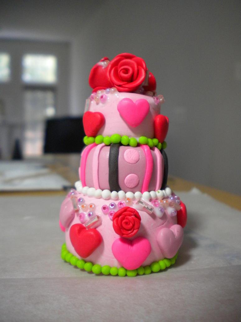 Layered Birthday Cake By Exeriox On Deviantart