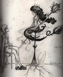 le sirene by LittleBlackBird79
