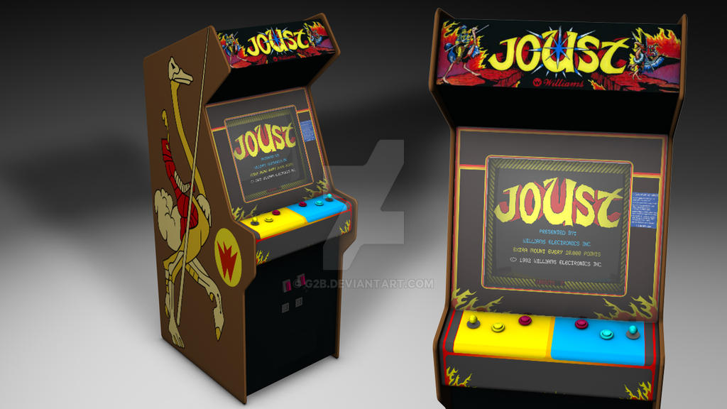joust arcade machine