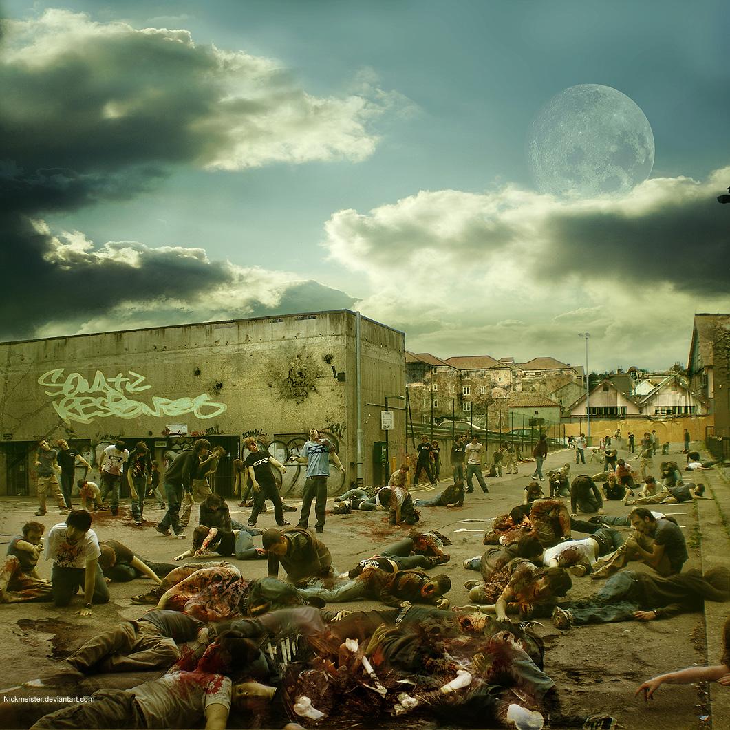 """Zombie Apocalypse 12"""" by Nickmeister"""