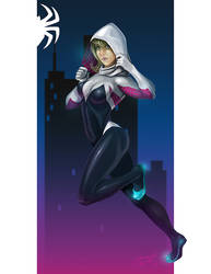 Spider Gwen Color