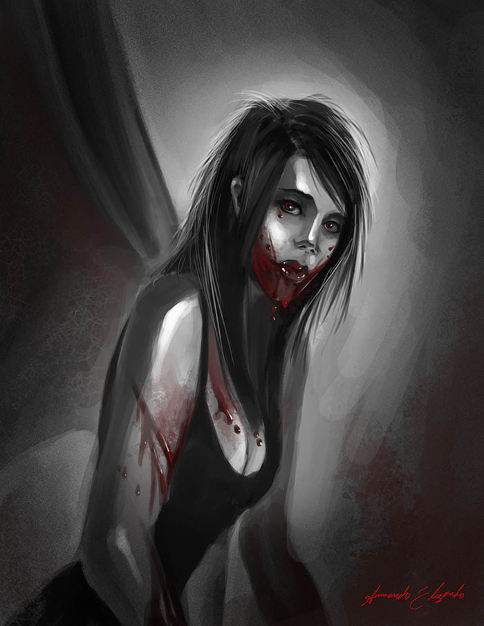 Bloody Vampire by arm01