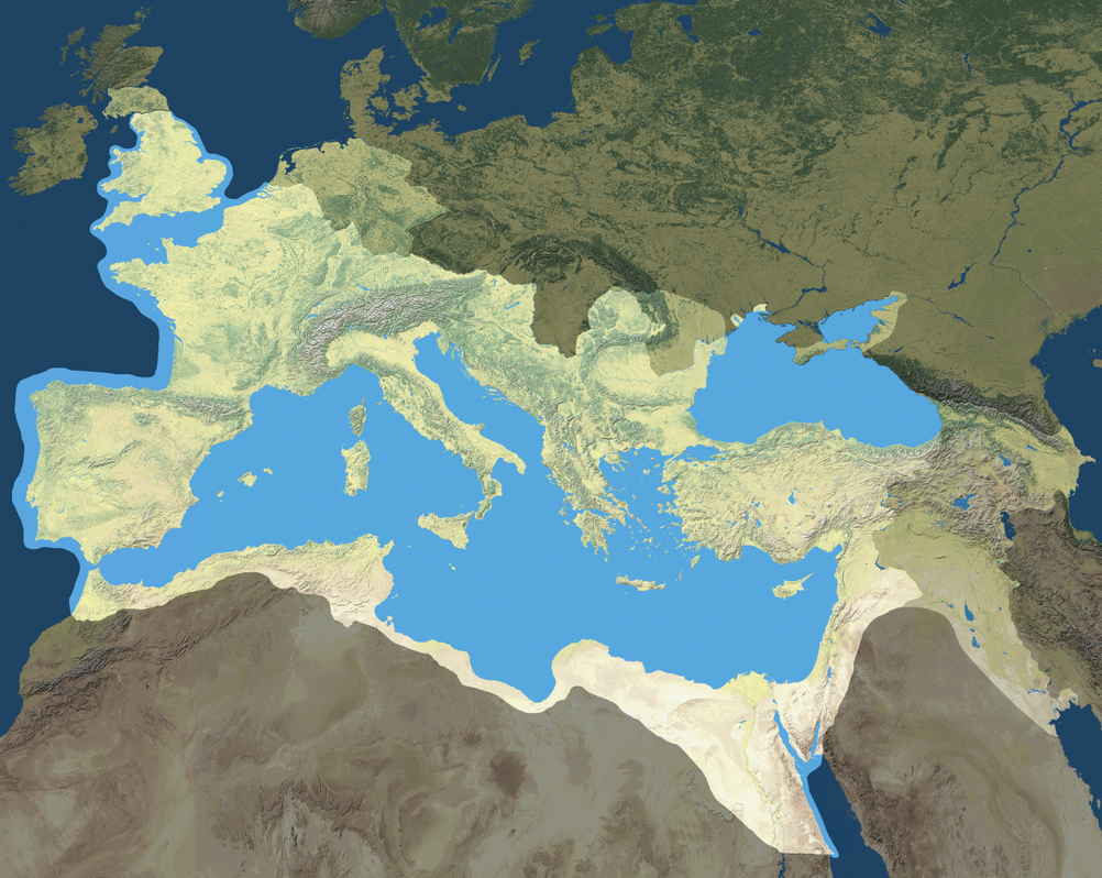 the roman empire The holy roman empire was neither holy nor roman nor an empire -- much of its territory was never within the empire -- yet it perpetuated the concept of rome the perception of being heirs to rome persisted even among the nazis.