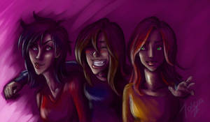 The Three Friends_coloured