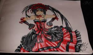 Kurumi from Date a Live (Fan Art)