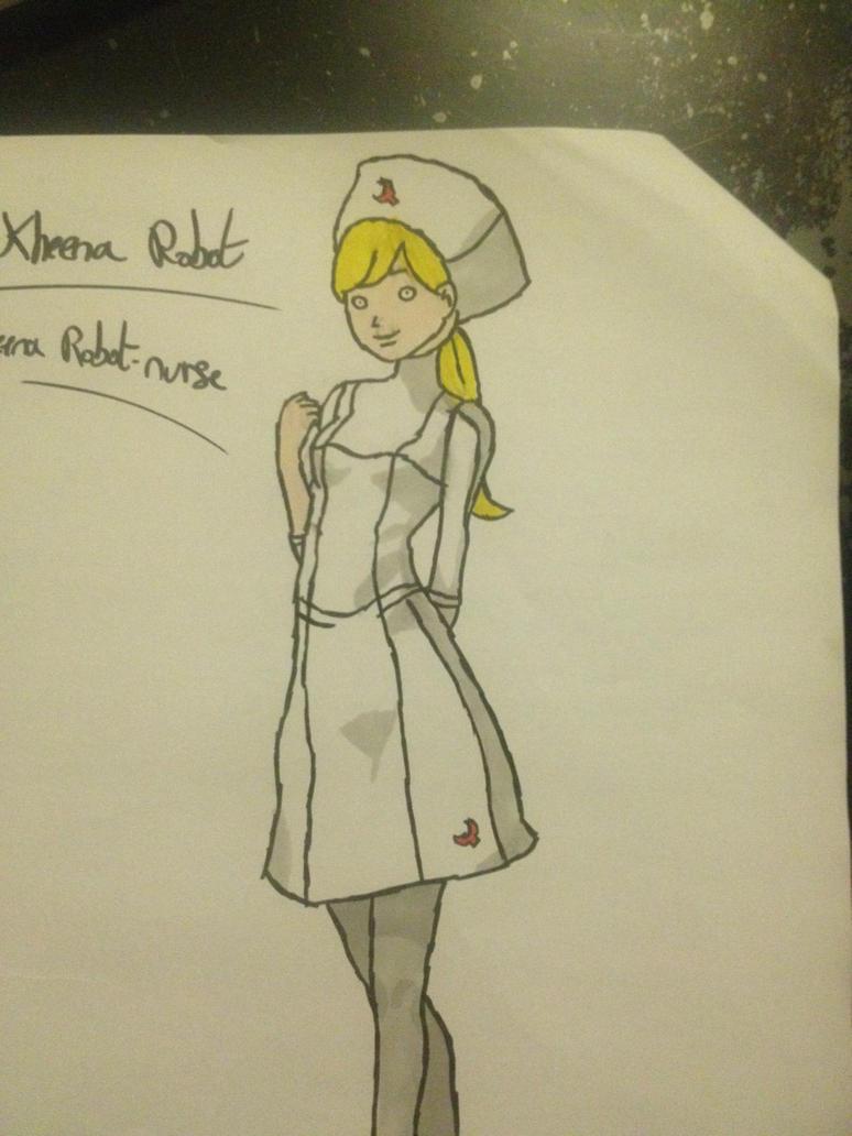 Kheena | Nurse Dress by LinkyBrutus