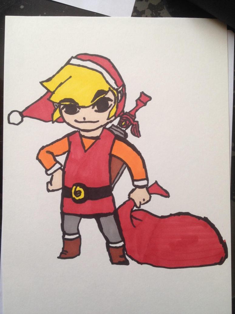 Link Christmas by LinkyBrutus