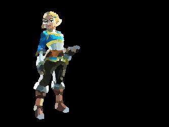 Zelda - Fond Blanc
