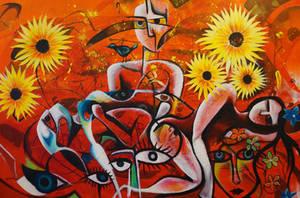 Sunflowers by jonasfyhr