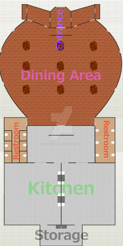 Flat map design restaurant managment by divine angel for Homestyler login