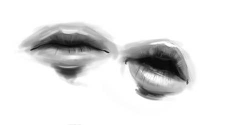Studies. Lips + Guides by Divine-Angel-Heroine