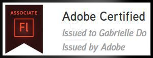 Adobe Certified Badge Smaller by Divine-Angel-Heroine
