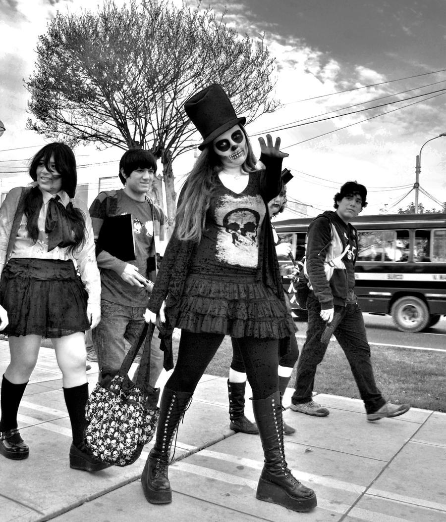 Lima zombie walk by blackpixifotos