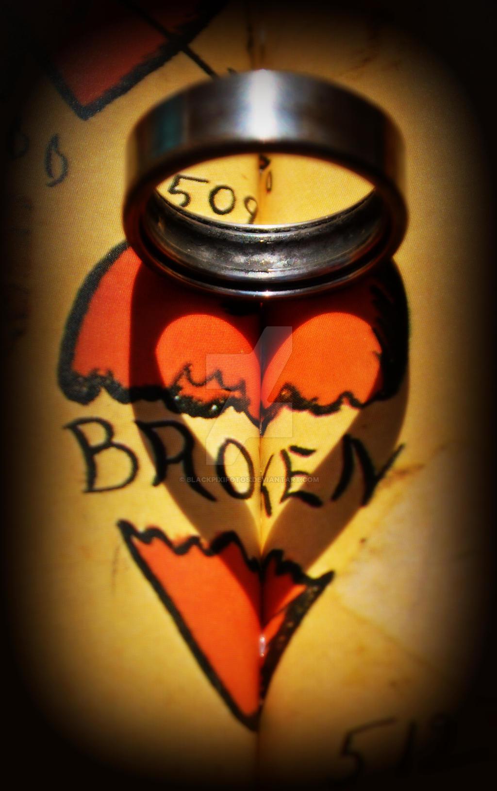 Too Many Broken Hearts by blackpixifotos
