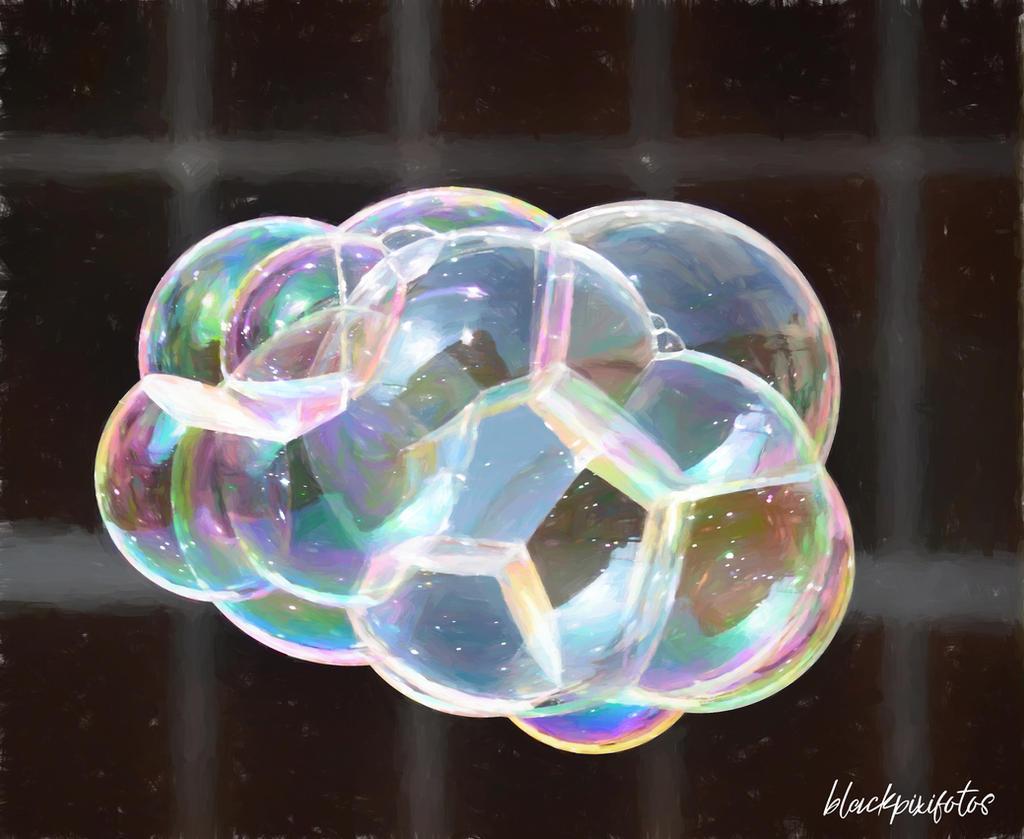 Painted Bubbles by blackpixifotos