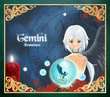 Gemini - book cover 2 by WandaRocket