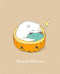 Sleep the Halloween by WandaRocket