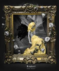 Black Wings Doll Angel by WandaRocket